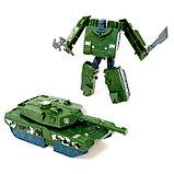 Робот-трансформер «Танк», цвета МИКС, фото 3