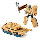 Робот-трансформер «Танк», цвета МИКС, фото 4