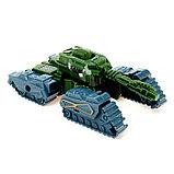 Робот-трансформер «Танк», цвета МИКС, фото 8