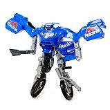 Робот-трансформер «Мотоцикл», цвета МИКС, фото 4