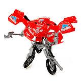 Робот-трансформер «Мотоцикл», цвета МИКС, фото 6