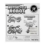 Робот-трансформер «Мотоцикл», цвета МИКС, фото 10