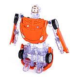 Робот-трансформер «Спорткар», с металлическими элементами, фото 2