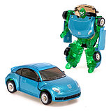 Робот - трансформер «Автомобиль», с металлическими элементами, МИКС, фото 2