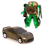Робот - трансформер «Автомобиль», с металлическими элементами, МИКС, фото 3