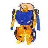 Робот - трансформер «Автомобиль», с металлическими элементами, МИКС, фото 5