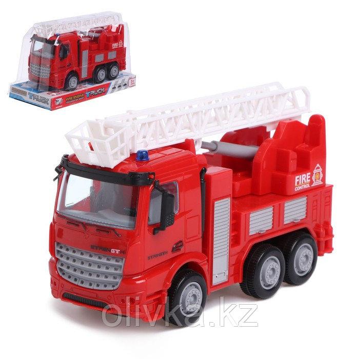 Машина инерционная «Пожарная служба», 1:40