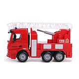 Машина инерционная «Пожарная служба», 1:40, фото 2