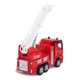 Машина инерционная «Пожарная служба», 1:40, фото 3