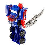 Робот-трансформер «Оптимус», цвета МИКС, фото 4