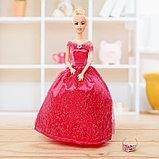Кукла модель шарнирная «Виктория» в пышном платье, с аксессуарами, МИКС, фото 3