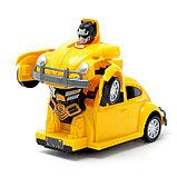 Робот-трансформер «Автобот», световые и звуковые эффекты, работает от батареек, фото 2
