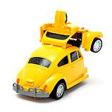 Робот «Автобот», трансформируется, световые и звуковые эффекты, работает от батареек, фото 4