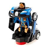 Машина-трансформер «Автобот», световые и звуковые эффекты, работает от батареек, цвета МИКС, фото 4