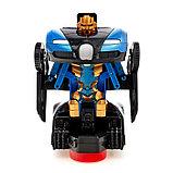 Машина-трансформер «Автобот», световые и звуковые эффекты, работает от батареек, цвета МИКС, фото 5