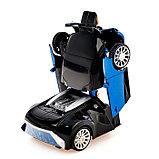 Машина-трансформер «Автобот», световые и звуковые эффекты, работает от батареек, цвета МИКС, фото 6