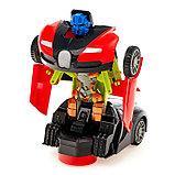 Машина-трансформер «Автобот», световые и звуковые эффекты, работает от батареек, цвета МИКС, фото 10