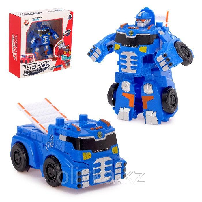 Робот - трансформер «Автобот», цвета МИКС