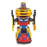 Робот-трансформер «Автобот», световые и звуковые эффекты, работает от батареек МИКС, фото 4