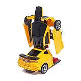 Робот-трансформер «Автобот», световые и звуковые эффекты, работает от батареек МИКС, фото 5