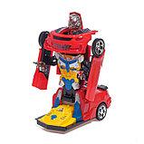 Робот-трансформер «Автобот», световые и звуковые эффекты, работает от батареек МИКС, фото 9
