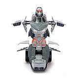 Робот «Самолёт», трансформируется, световые и звуковые эффекты, работает от батареек, цвета МИКС, фото 4