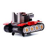 Танк «Артиллерия», с пистолетом, световые и звуковые эффекты, работает от батареек, фото 4