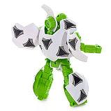 Робот-трансформер «Мяч футбольный», с наклейками, фото 3