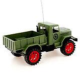 Грузовик радиоуправляемый «Военный», работает от батареек, МИКС, фото 3