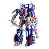 Робот-трансформер «Автобот», цвет синий, фото 2