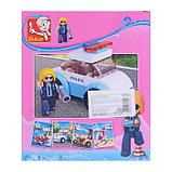 Конструктор Розовая Мечта «Девочка полицейский», 68 деталей, фото 2