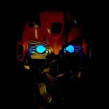 Робот-трансформер «Бластер с маской», стреляет мягкими пулями, цвет жёлтый, фото 3