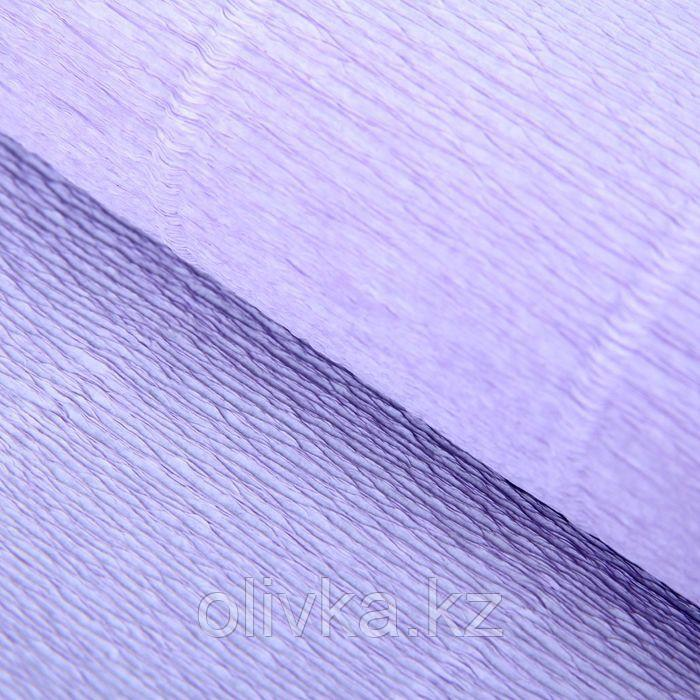 "Бумага гофрированная, 592 ""Светло-сиреневая"", 0,5 х 2,5 м"