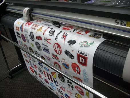 Печать на самоклеющейся пленке. Оракале 300DPI. Флексография, фото 2