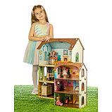 Деревянный домик с цветными обоями «Лоли», фото 2