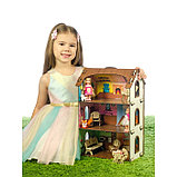 Деревянный домик с цветными обоями «Лоли», фото 3