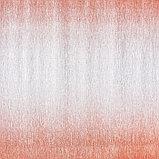 """Бумага гофрированная, 802/4 """"Золото металл-красный градиент"""", 0,5 х 2,5 м, фото 2"""
