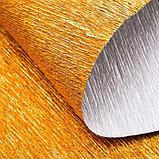 Бумага гофрированная 807 античное золото металл, 50 см х 2,5 м, фото 3