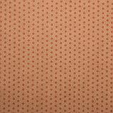 "Бумага упаковочная, ""Горох малый"", крафт, розовая, 50 х 70 см, фото 2"