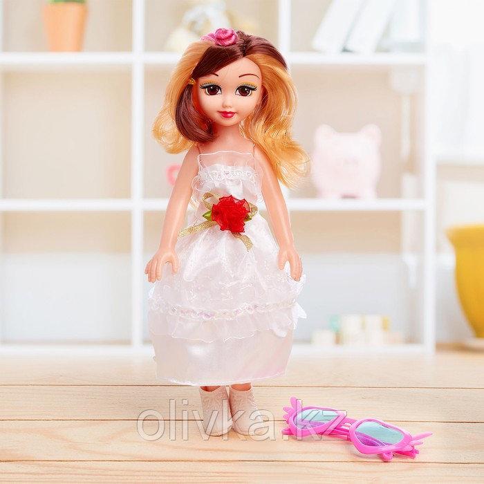 Кукла «Даша» в платье, с аксессуарами, со звуком