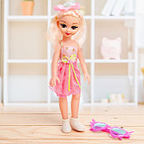 Кукла «Даша» в платье, с аксессуарами, со звуком, фото 2