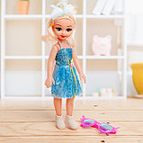 Кукла «Даша» в платье, с аксессуарами, со звуком, фото 4