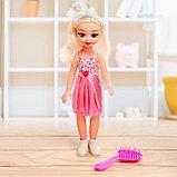 Кукла «Даша» в платье, с аксессуарами, со звуком, фото 5