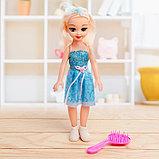 Кукла «Даша» в платье, с аксессуарами, со звуком, фото 7
