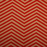 """Бумага упаковочная, """"Зиг-Заг"""", крафт, красная, 50 х 70 см, фото 2"""
