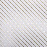 "Бумага упаковочная, ""Люрекс"", крафт белый, золотая, 50 х 70 см, фото 2"