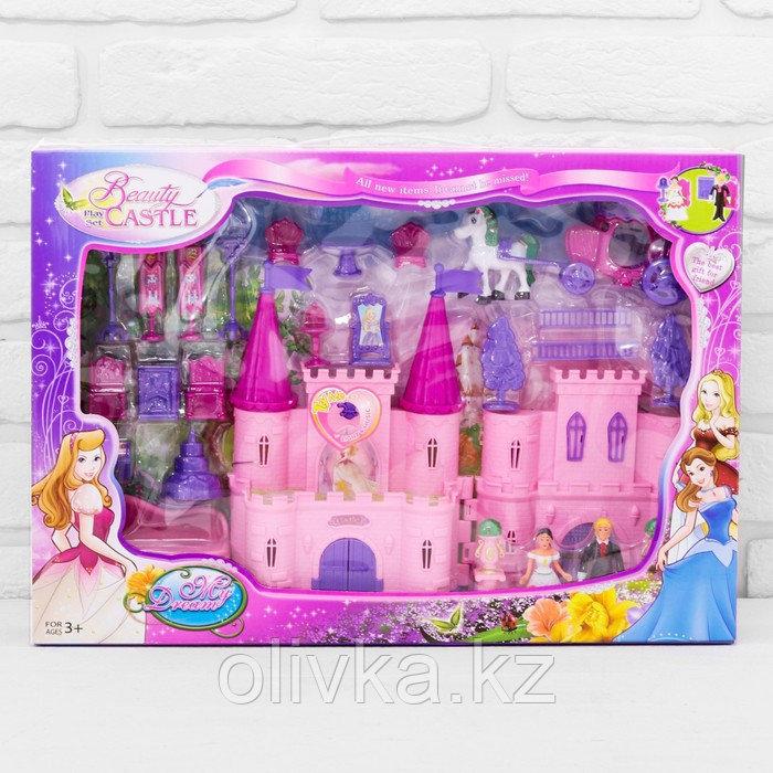 Замок для кукол «Кукольный замок» с аксессуарами, световые и звуковые эффекты