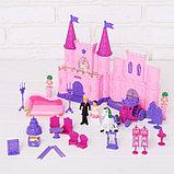 Замок для кукол «Кукольный замок» с аксессуарами, световые и звуковые эффекты, фото 2