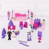 Замок для кукол «Кукольный замок» с аксессуарами, световые и звуковые эффекты, фото 3