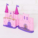 Замок для кукол «Кукольный замок» с аксессуарами, световые и звуковые эффекты, фото 4